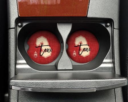 Delta Sigma Theta Name and Number Car Coasters