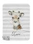 Baby Boy Elk Personalized Jersey Blanket