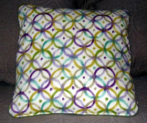 """Handmade Quilted 19"""" by 19"""" Pillow    """"Sheltie Love""""  Shetland Sheepdogs    By Dawn Johnson"""