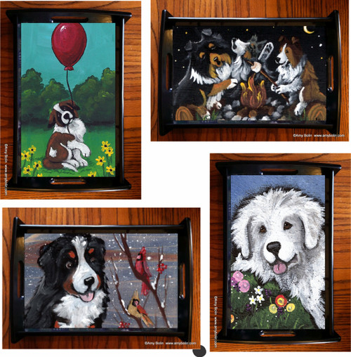 Serving Tray - your choice of breed/design