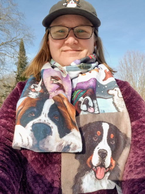 Create your own amazing scarf - your choice of 18 images - scroll down to description before ordering
