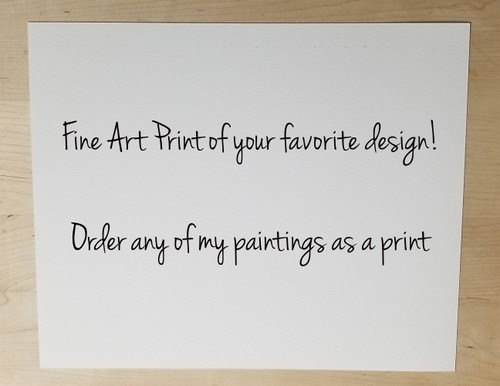 Giclée Art Print Of Your Favorite Design - Several Sizes Available