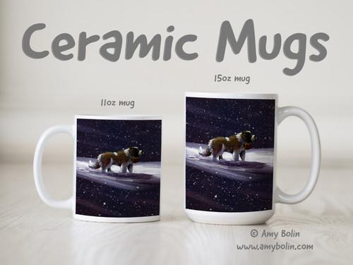 """A Ray Of Hope"" Saint Bernard Ceramic Mug 11oz or 15oz"