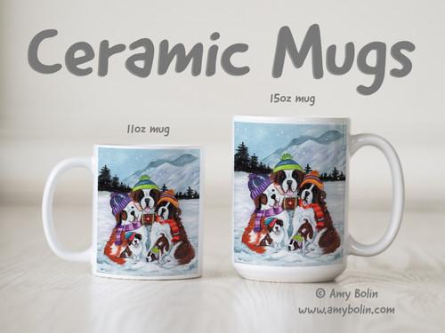 """Generations"" Saint Bernard Ceramic Mug 11oz or 15oz"
