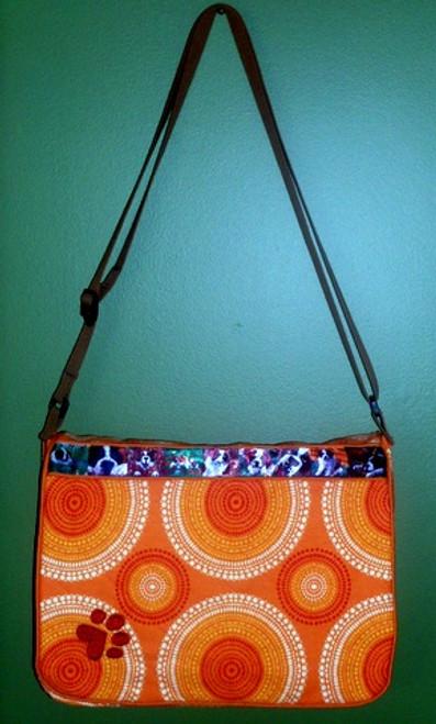 Quilted Mailbag  Saint Bernard   By Dawn Johnson