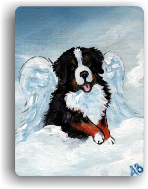 """My Sweet Angel"" Bernese Mountain Dog Magnet"