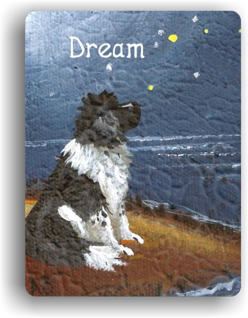 """""""Dream"""" Landseer Newfoundland Magnet"""