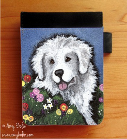 """""""Mom's Favorite Flower"""" Great Pyrenees Notebooks (several sizes available)"""