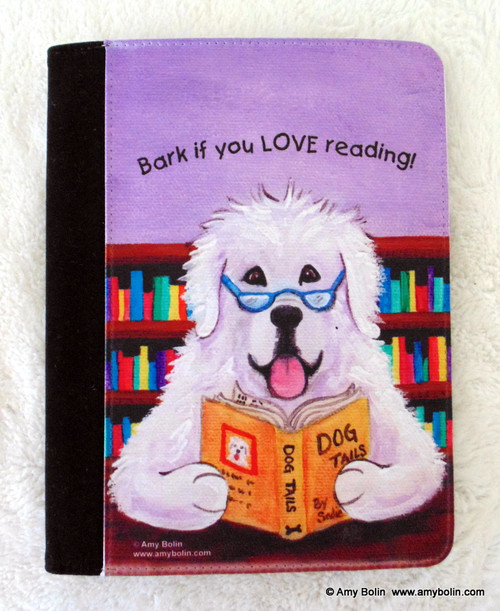 """""""Dog Tails Vol 2"""" Great Pyrenees Notebooks (several sizes available)"""