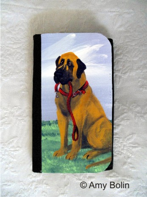 LARGE ORGANIZER WALLET · LETS GO · GREAT DANE · AMY BOLIN
