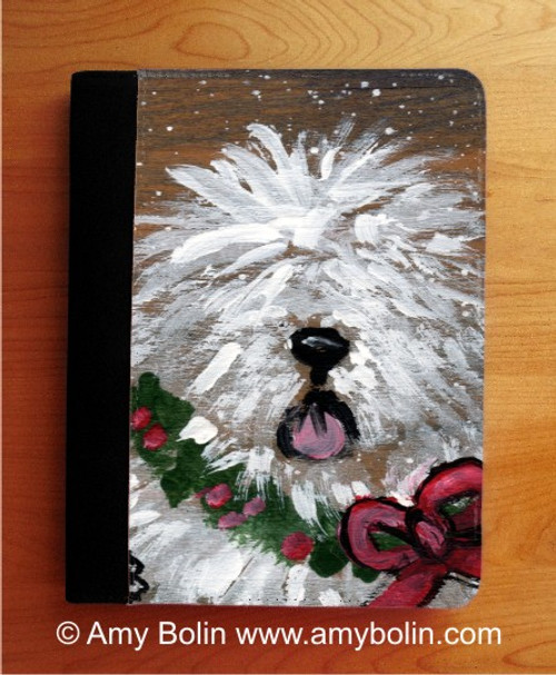"""""""Christmas Traditions"""" Old English Sheepdog Notebooks (several sizes available)"""