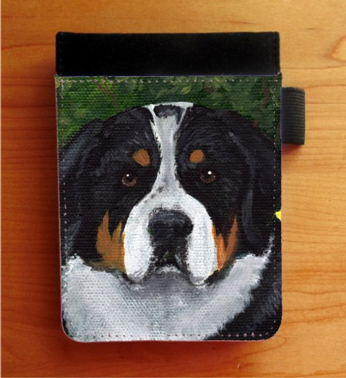 """""""Piper"""" Greater Swiss Mountain Dog Notebooks (several sizes available)"""