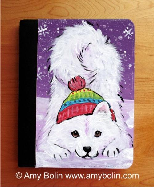 """Playful Pup"" Samoyed Notebooks (several sizes available)"