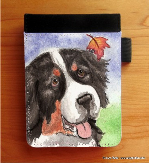 """Autumn Berner"" Bernese Mountain Dog Notebooks (several sizes available)"