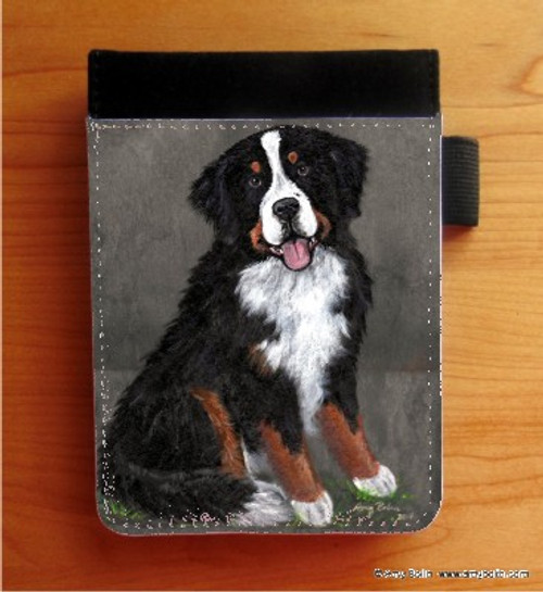 """""""Merlin"""" Bernese Mountain Dog Notebooks (several sizes available)"""
