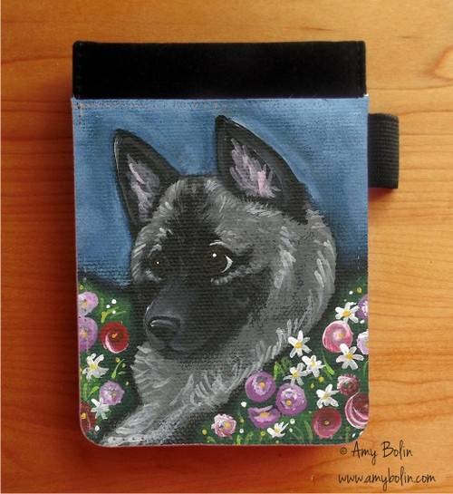 """Mom's Favorite Daisy"" Norwegian Elkhound Notebooks (several sizes available)"