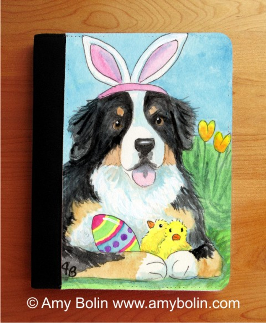 NOTEBOOKS (SEVERAL SIZES AVAILABLE) · EASTER BERNIE · BERNESE MOUNTAIN DOG · AMY BOLIN