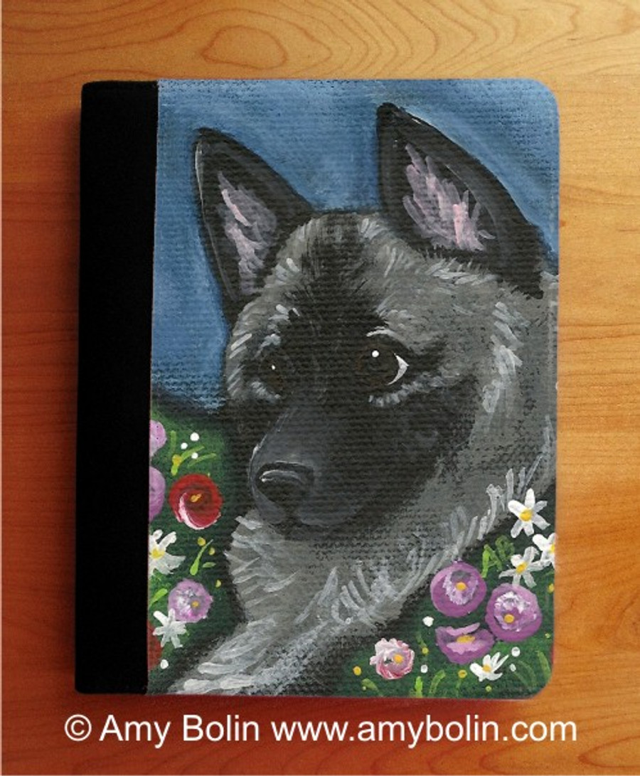 NOTEBOOKS (SEVERAL SIZES AVAILABLE) · MOM'S FAVORITE DAISY · NORWEGIAN ELKHOUND · AMY BOLIN