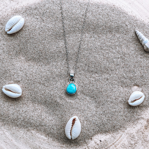 Small Turquoise Necklace