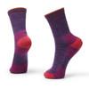 Darn Tough Hiker Micro Crew Cushion Socks - Women's M(Plum Heather) - Style 1903