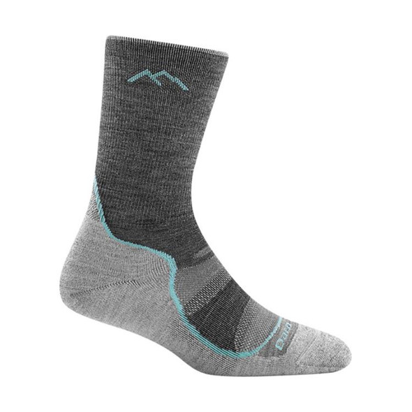 Darn Tough Light Hiker Micro Crew Socks - Women's M(SLT)