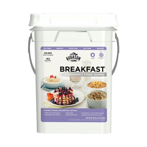 Augason Farms 30 Day Emergency Food Supply (Breakfast)
