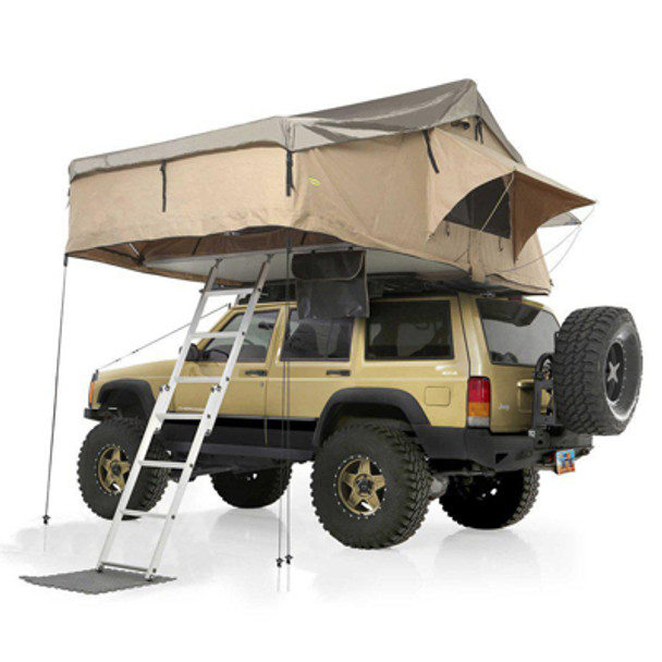 Smittybilt 2883 Overlander XL Roof Top Tent w/ Ladder & Mattress
