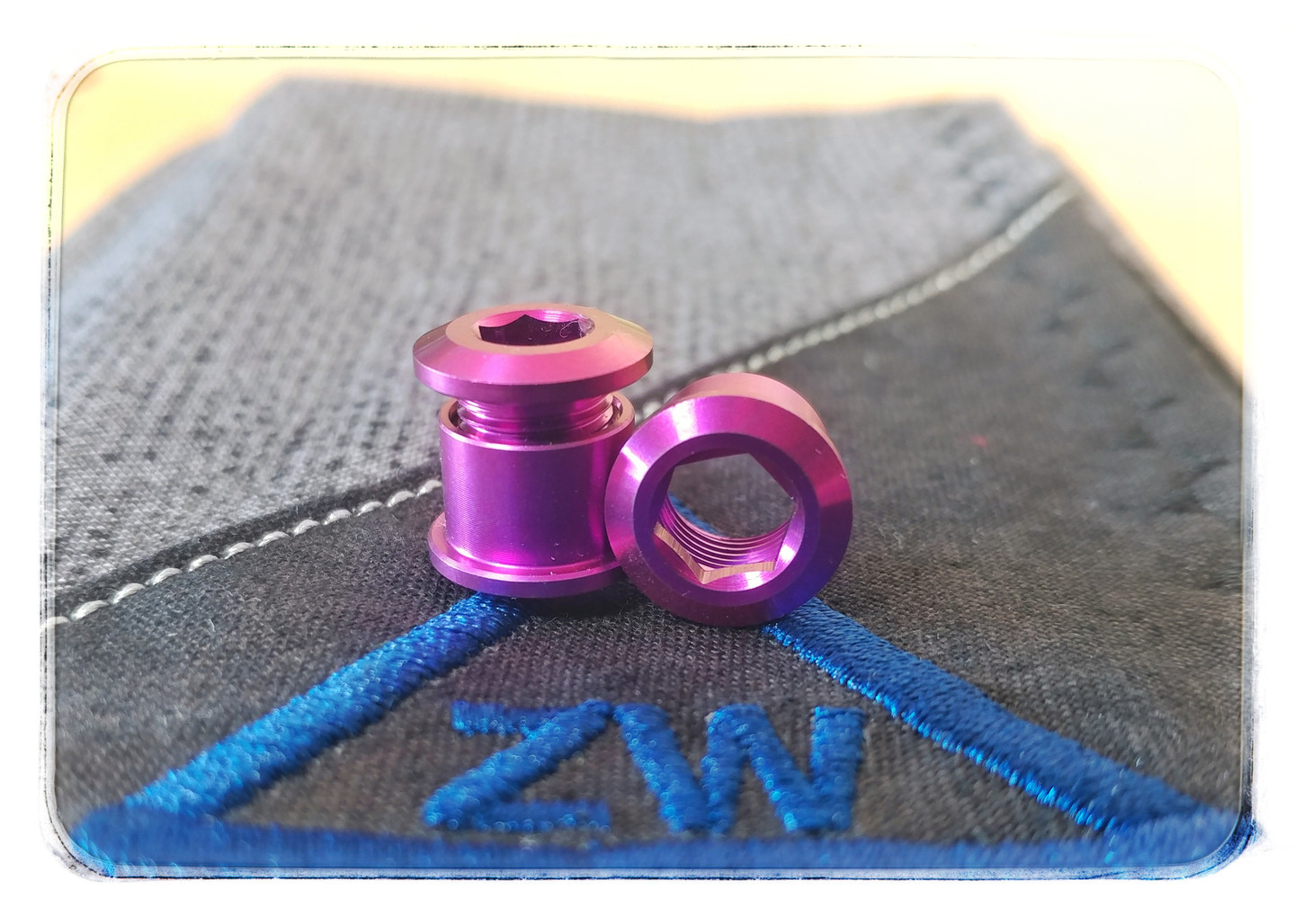 Colored Titanium Clip Bolt