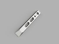 Titanium Double Slot Clip It Pry Bar