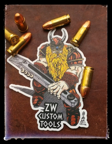 Viking/Dwarf sticker