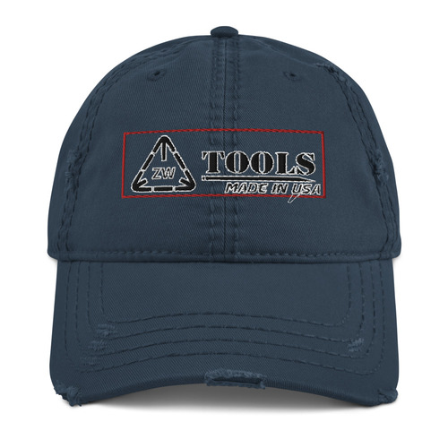 ZWT Distressed Ball Cap