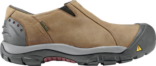 Men's Brixen Lo Waterproof-Slate Black/Madder Brown
