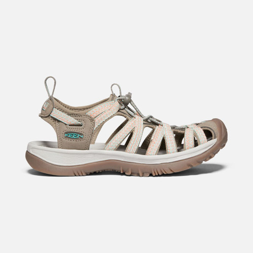 Women's Whisper - Taupe/Coral