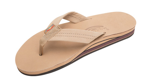 Men's Double Layer Premier Leather with Arch Support