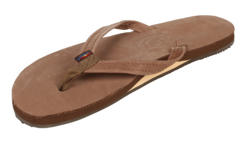 """Women's Single Layer Classic with Arch Support - 1/2"""" Narrow Strap"""