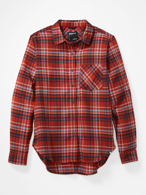 Women's Maggie Midweight Flannel Long Sleeve