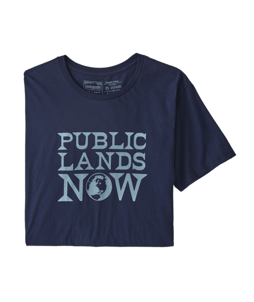 Men's Public Lands Now Organic T-Shirt
