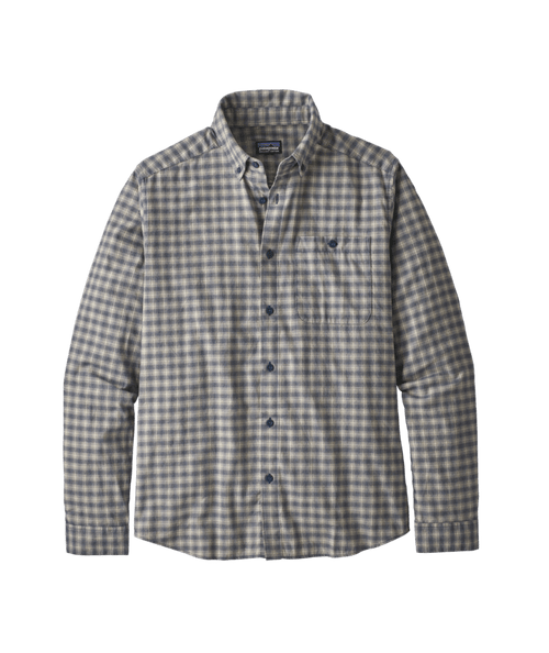 Men's Long Sleeve Vjosa River Pima Cotton Shirt