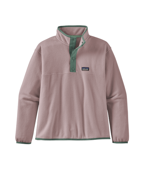Girls' Micro D Snap-T Pullover