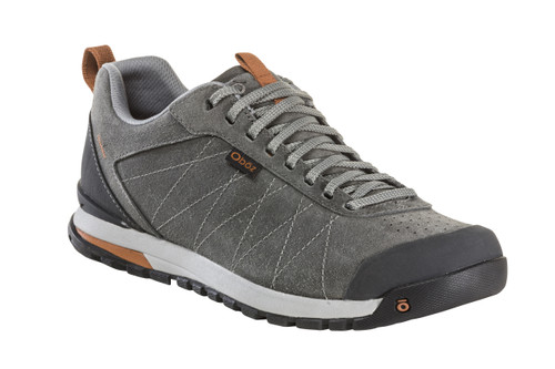 Men's Bozeman Low Leather- Charcoal