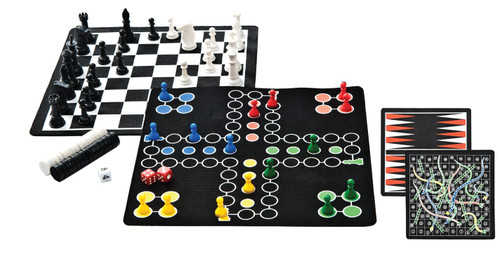 Backpack 5-in-1 Magnetic Game Set