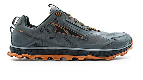 Men's Lone Peak 4.5 - Grey/Orange