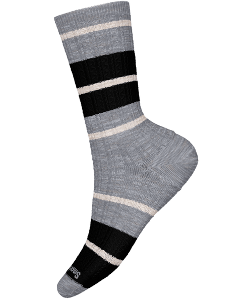Women's Everyday Striped Cable Crew