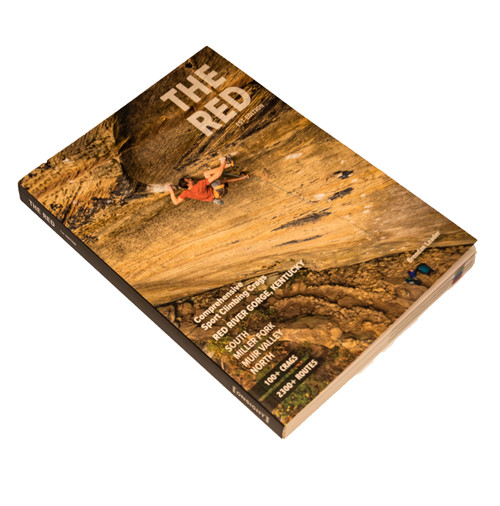 THE RED 1ST EDITION - Sport Climbing Guidebook
