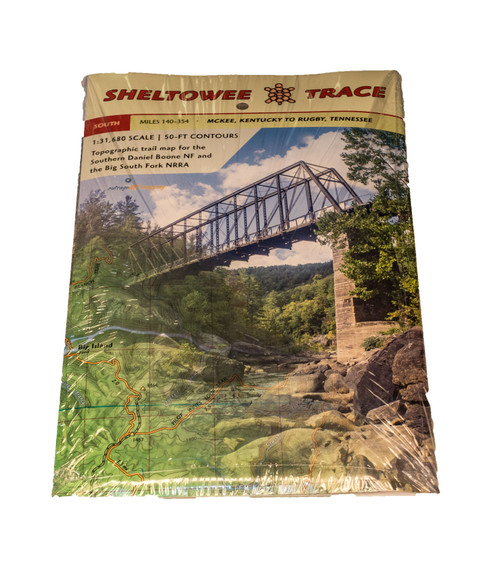 SHELTOWEE TRACE TOPOGRAPHIC MAP - SOUTH
