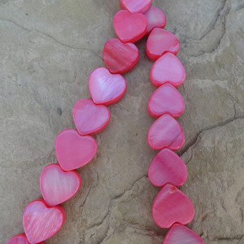 Pearl Mother of Pink 10 x 10 mm 16 in Bead Strand