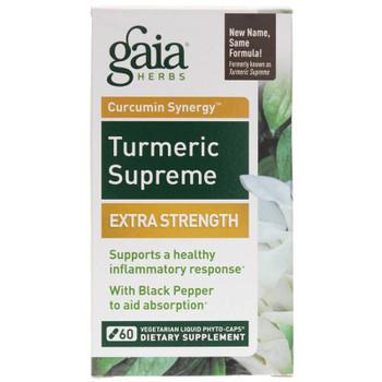 Gaia Turmeric Supreme Extra Strength 60 Caps