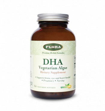 Flora Vegetarian Algae DHA 60 Caps