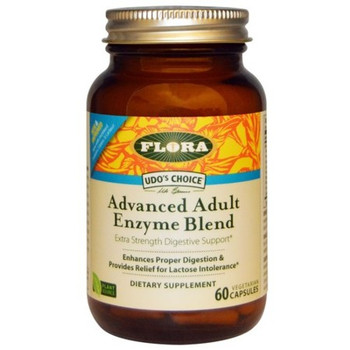 Udo's Choice  Advanced Adult Enzyme Blend 60 Caps