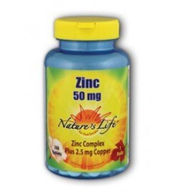 Zinc 50 mg 250 Tablets